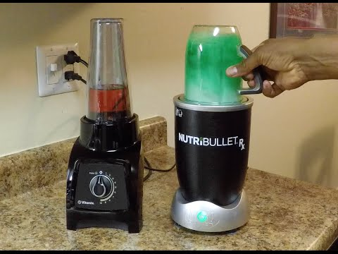 ALL NEW NUTRIBULLET Rx vs. VITAMIX S30 SHOWDOWN!!!