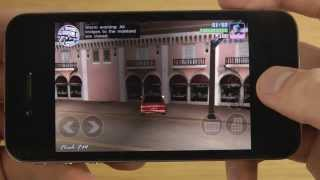 iPhone 4 iOS 7 Beta 5 - GTA Vice City Gaming Does It Work?