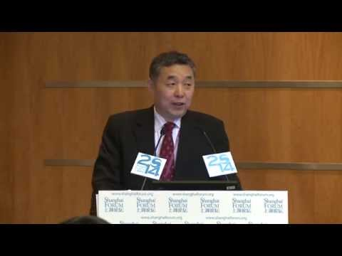 """[2014 Shanghai Forum] Li Junfeng """"Climate Change and Energy Security"""""""