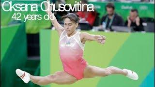 Oldest Elite Gymnast In The World Oksana Chusovitina Age 42