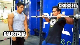 CROSSFIT VS CALISTENIA | ¿Cual es Mejor Crossfit o Calistenia - Street Workout?