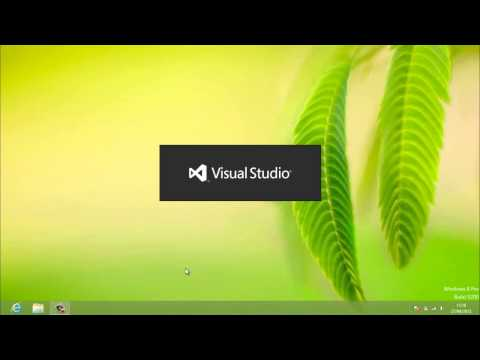 AULA 1 VISUAL STUDIO INSTALAÇÃO - Criando APP para Windows 8