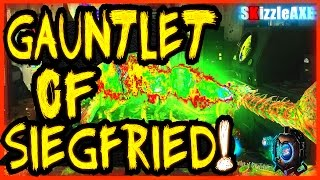 GOROD KROVI ~ GAUNTLET OF SIEGFRIED, DRAGON SPECIALIST WEAPON & 115 PUNCH TUTORIAL BO3 ZOMBIES DLC 3