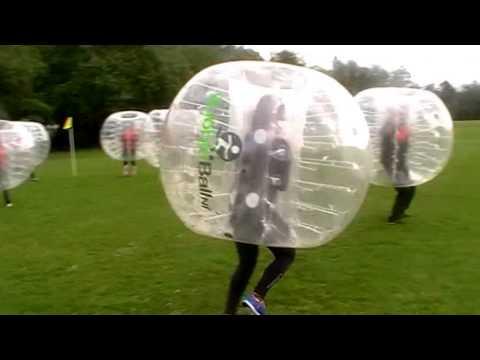 Pwc Team Building Bubble Ball