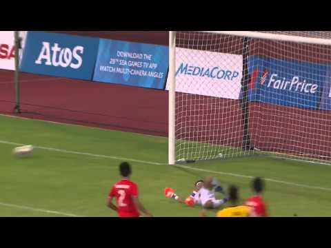 Football Brunei vs Laos first half Highlights 31 May   28th SEA Games Singapore 2015 720p