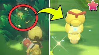 BEST GUIDE For How To Catch SHINY POKEMON EASY in Pokemon Let's Go!