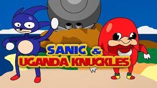 Uganda Knuckles and Sanic know the way