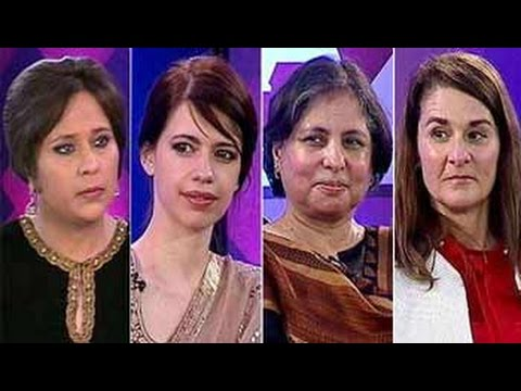 Melinda Gates, Kalki Koechlin and Suneeta Dhar on She The People