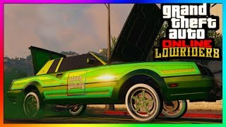 "GTA 5 Online ""LOWRIDER DLC"" - ""Willard Faction"" All Paint jobs, Hydraulics & Interiors! [Customized]"