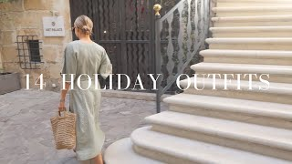 WHAT I WORE IN A WEEK | HOLIDAY STYLE | LYDIA TOMLINSON