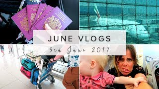 FLYING WITH EMIRATES & HOME FROM DUBAI - JUNE DAY 3
