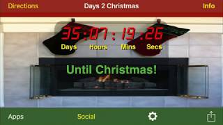 Days 2 Christmas app for iPhone, iPad, and Apple Watch