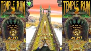 Templo Run 2 Juego Gratis Usain Bolt y Bruce Lee