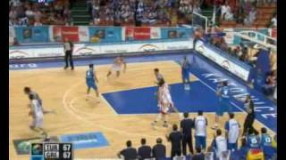 GREECE-TURKEY 76-74  GREECE HIGHLIGHTS EUROBASKET QUARTER FINAL