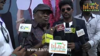 Senthil At Ennama Katha Viduranuga Movie Single Track Launch