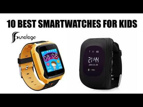 Children Smart Clock with GPS Tracker - Top Best 10 SmartWatch for Kids