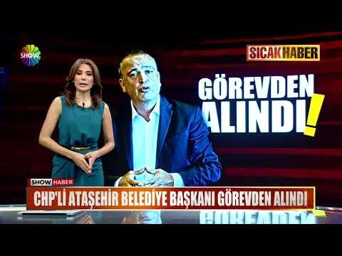 CHP'li Ataşehir Belediye Başkanı görevden alındı