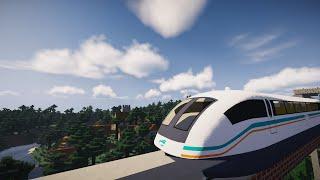 Minecraft Shanghai Maglev Train