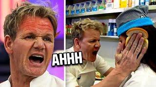 Gordon Ramsay LOSES IT With His Chef