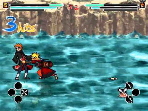 Naruto Sage Vs Pein [battle gameplay] | 2014 video