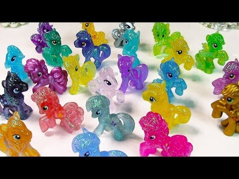Blind Bag Collection Wave 4 Part 1 Glitter Metallic MLP My Little Pony toy review