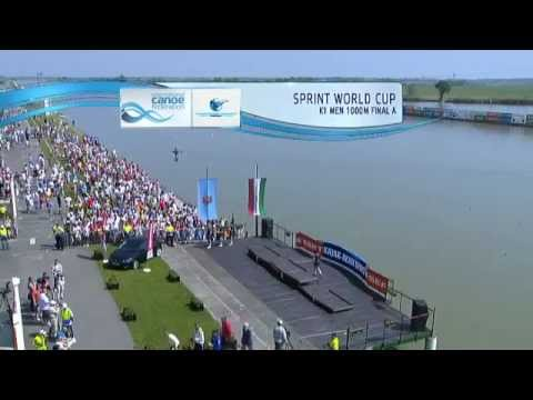 SZEGED 2013  MEN K1 1000 ICF CANOE SPRINT WORLD CUP 1