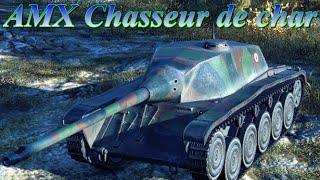 AMX CDC летающий француз.World of Tanks