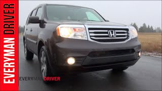 2014 Honda Pilot 4WD DETAILED Review on Everyman Driver