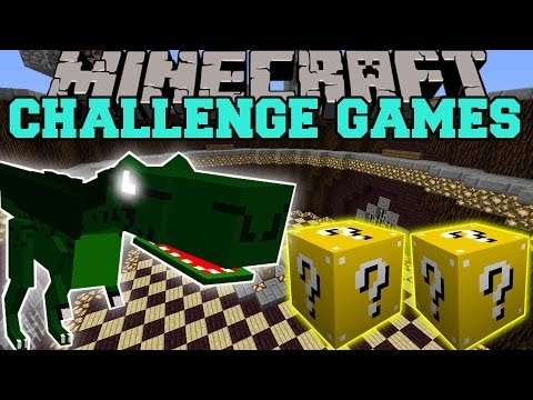 Minecraft: DINOSAURS MODS CHALLENGE GAMES Lucky Block Mod OreSpawn Modded Mini Game