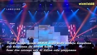 Dunia Dalam Genggamanmu - Ahmad Dhani Feat Judika - Mahakarya Telkom Indonesia