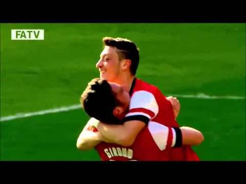 Mesut Ozil all assists for Arsenal