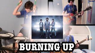 Jonas Brothers - Burnin' Up (Guitar & Drum Cover)