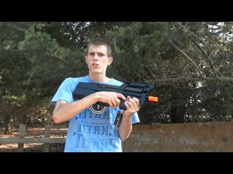 King Arms FN P90 Airsoft Gun Chrono/Shooting