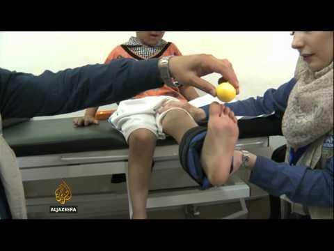Injured Syrians seek medical help in Jordan