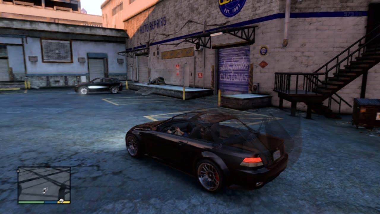 GTA 5: Los Santos Customs, Ubermacht Sentinal Convertible ... Ubermacht Zion Cabrio Gta 5
