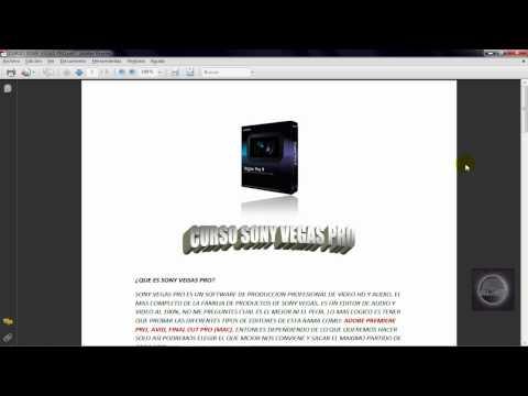 Tutorial Sony Vegas Pro 9 parte 1