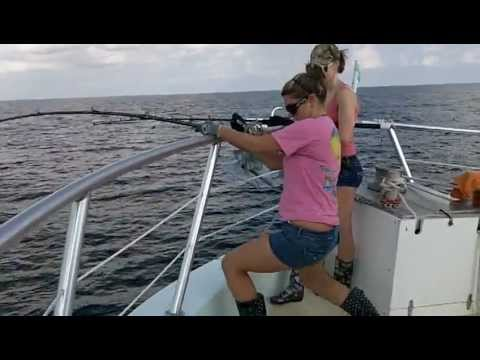 Girls Gone Wild Catching Huge Fish video