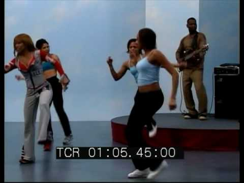 high impact workout/Donna Richarson and Johnny Lee Long