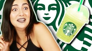 People Try Secret Starbucks Drinks