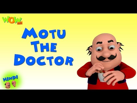 Motu The Doctor - Motu Patlu in Hindi WITH ENGLISH, SPANISH & FRENCH SUBTITLES thumbnail