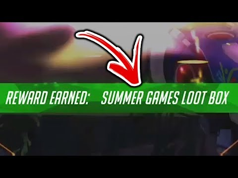 TROLLED SO HARD HE GOT THE LOOTBOX?!? - Overwatch Funny Moments #59