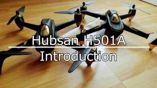 Hubsan H501A - Part 1 - A Brief Introduction to the Phone App