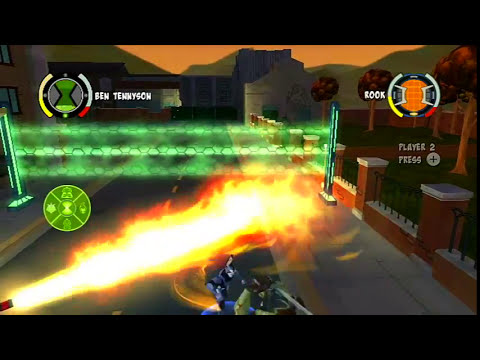 Ben 10: Omniverse Wii/Wii U/PS3/Xbox - Part 1 - Training Time