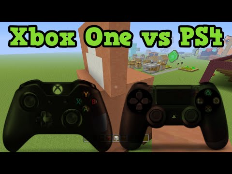 Minecraft Xbox One vs PS4 Review