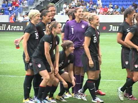 US Women's Soccer Team Aims for World Cup Gold