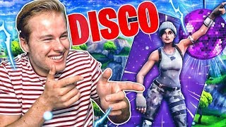 DIKKE DISCO PARTY MET DE TEGENSTANDER!! 😂 - Fortnite Battle Royale (Nederlands)
