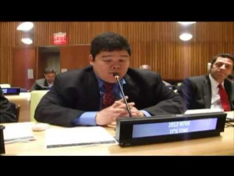2013 World Forum Diaspora Economy @ The U.N in New York (OGTV)