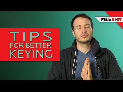 Better Green Screen Tips!