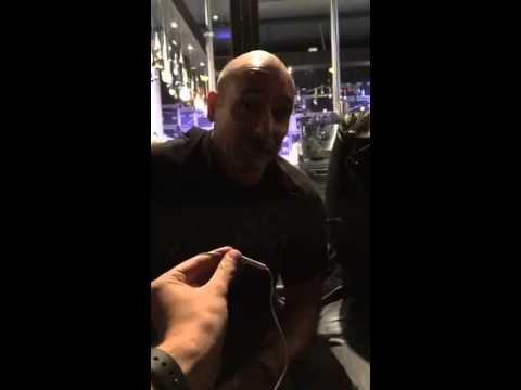 U2start post-show chat Amsterdam 2 - U2 Ziggo Dome 9 Sept 2015