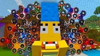 Marge Bans Fidget Spinners | The Simpsons | Minecraft Xbox [66]